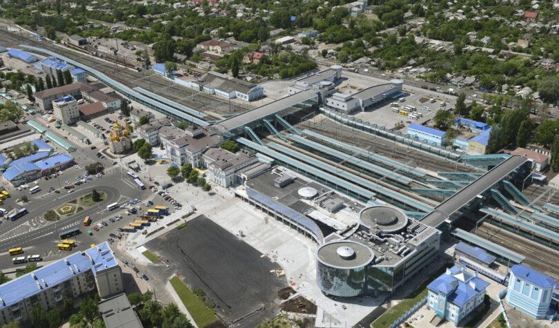 Железнодорожный вокзал г. Донецк