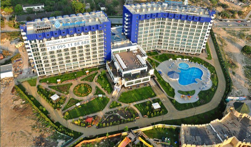 Отель «Аквамарин» по адресу: г. Севастополь, ул. Парковая, 11 (секции №1, №2, №4)