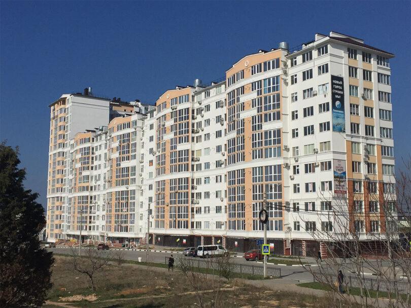 Жилой комплекс по ул. Парковая, в г. Севастополь